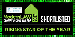 Modern Law Conveyancing Awards - Shortlisted